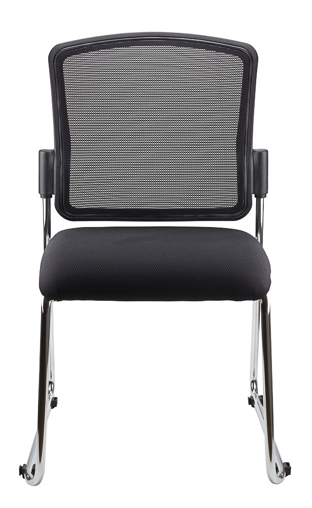 SPENCER STACKABLE VISITORS CHAIR BLACK  (price excludes gst)