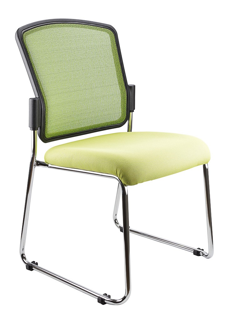 SPENCER STACKABLE VISITORS CHAIR LIME  (price excludes gst)