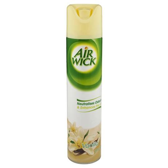 AIRFRESHENER AIR WICK AEROSOL VANILLA 237g (price excludes gst)