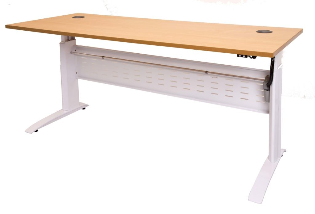 Electric Height Adjustable Open Desk 1500mmW x 700mmD