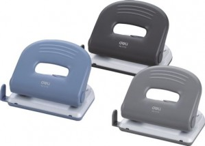 2 HOLE PUNCH DELI (20 SHT) BLACK #0119  (price excludes gst)