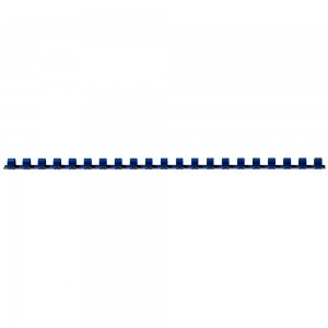 COMB BINDING COILS 12mm BLUE BOX 100 (price excludes gst)