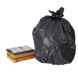 BIN LINERS BLACK 120 LITRE BOX 100  (price excludes gst)