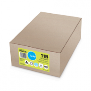 ENVELOPES 90mm x 145mm Window Faced Secretive Presseal (Box 500) 140016 (price excludes gst)