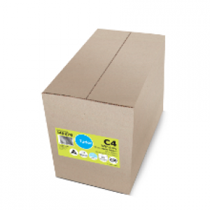 BOOKLET MAILER C4 WHITE Window-Faced (Box 250) 140276 (price excludes gst)