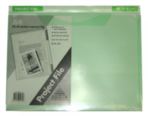 PROJECT FILE A4 GREEN #152A (price excludes gst)