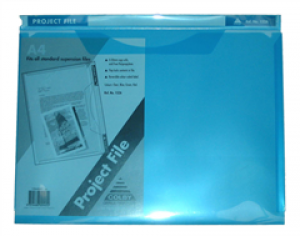 PROJECT FILE A4 BLUE #152A (price excludes gst)