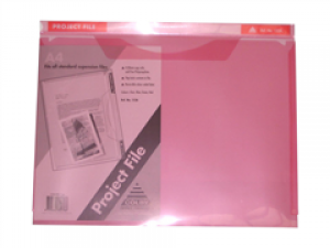 PROJECT FILE A4 RED #152A (price excludes gst)
