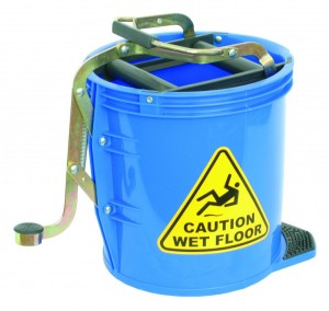MOP BUCKET HEAVY DUTY METAL WRINGER 16L I-447  (price excludes gst)