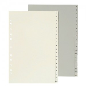 INDEX PP FCAP A-Z GREY #35055 (price excludes GST)