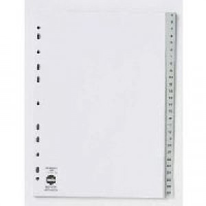 PVC DIVIDER A4 1-10 WHITE #35121 (price excludes GST)