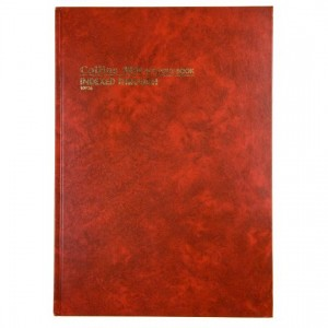 ACCOUNT BOOK HARD COVER A4 (3880) INDEXED 10926