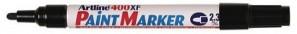 ARTLINE 400 PAINT MARKER BULLET 2.3mm BLACK (BOX 12)  (price excludes gst)