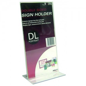 MENU/SIGN HOLDER DL #45101  (price excludes gst)