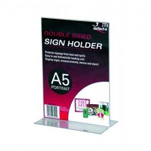 MENU/SIGN HOLDER A5 #47901 (price excludes gst)
