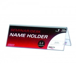 CONFERENCE CARD HOLDER 297mm x 105mm x 75mm #48601  (price excludes gst)