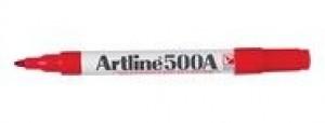 ARTLINE 500 WHITEBOARD MARKER BULLET NIB 2mm RED (BOX 12)