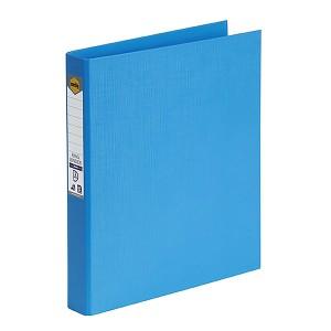 P.E BINDER A4 2 RING 25mm SKY BLUE