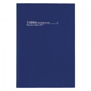 2021 COLLINS DEBDEN PLANNER 51 A4 1 MONTH TO A VIEW