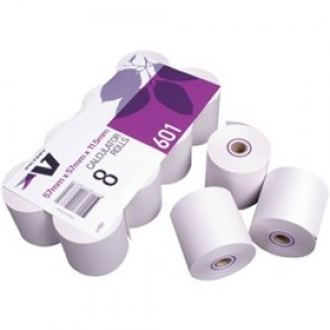 CALCULATOR & PRINTER ROLL 57mm x 57mm (PKT 8)
