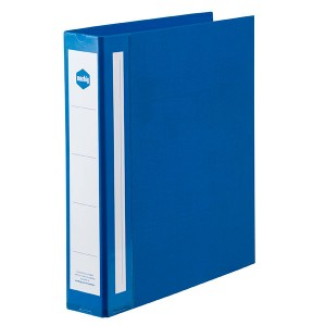 PE BINDER DELUXE A4 2 RING 38mm BLUE