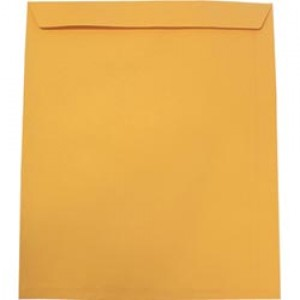 ENVELOPES X-RAY UNGUMMED GOLD 368mm x 445mm 105gsm #621410 Box 250  (price excludes gst)