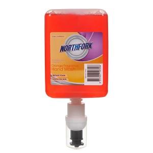 FOAMING HAND WASH ANTI BACTERIAL ORANGE 0.4ml (Box 6) NORTHFORK
