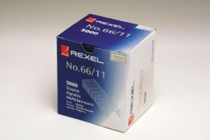 REXEL HEAVY DUTY STAPLES #66/11mm (Box 5,000)