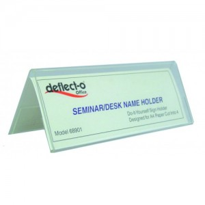CONFERENCE CARD HOLDER 150mm x 55mm x 55mm #68901  (price excludes gst)