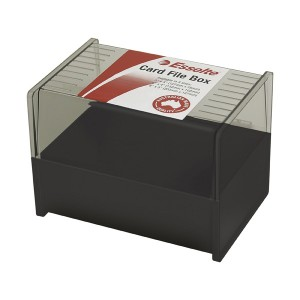 SYSTEM CARD BOX 150mm x 100mm (price excludes GST)