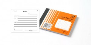 OLYMPIC CARBONLESS CASH RECEIPT BOOK (5x4) DUP. #714 (price excludes gst)