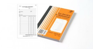 OLYMPIC CARBONLESS INVOICE / STATEMENT BOOK 8x5 DUP. #724 (price excludes gst)