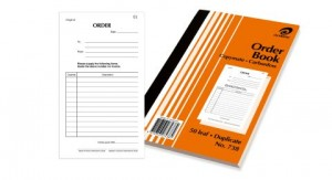 OLYMPIC CARBONLESS DELIVERY BOOK (8x5) DUP. #738 (price excludes gst)