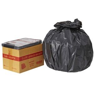 BIN LINERS BLACK 73 LITRE BOX 250  (price excludes gst)