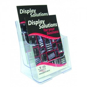 BROCHURE HOLDER A5 FREESTANDING 2-TIER #77221  (price excludes gst)