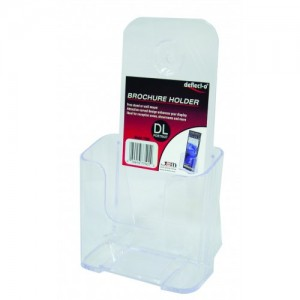 BROCHURE HOLDER DL FREESTANDING #77501  (price excludes gst)