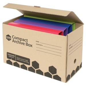 COMPACT ARCHIVE BOX MARBIG #80075 (BOX 5)  (price excludes GST)