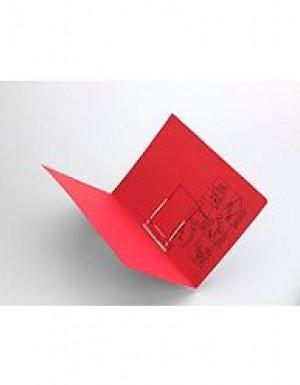 AVERY TUBECLIP FILE FCAP RED/BLACK PRINT #84412 Box 20