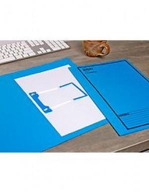 AVERY TUBECLIP FILE FCAP BLUE/BLACK PRINT #84422 Box 20
