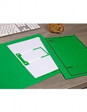AVERY TUBECLIP FILE FCAP GREEN/BLACK PRINT #84432 Box 20)