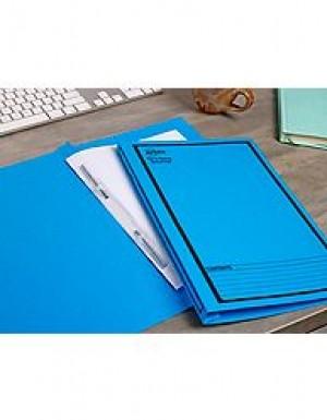 AVERY SPIRAL SPRING FILE FCAP BLUE/BLACK PRINT #85204 Box 25