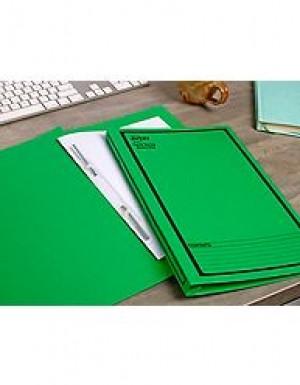 AVERY SPIRAL SPRING FILE FCAP GREEN/BLACK PRINT #85304 Box 25