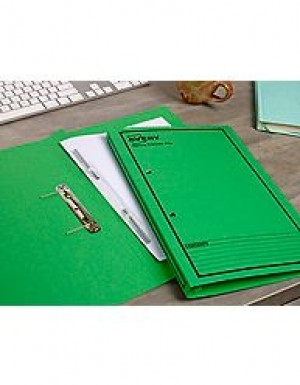 AVERY SPRING TRANSFER FILE FCAP GREEN/BLACK PRINT #86834 Box 25