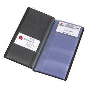 BUSINESS CARD HOLDER MARBIG 208 CAPACITY #8703302 (price excludes GST)