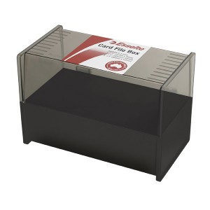 SYSTEM CARD BOX  200mm x 125mm (price excludes GST)