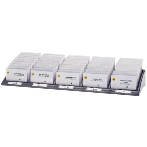 CONVENTION CARD DISPLAY KIT REXEL (50s) 900388  (price excludes gst)