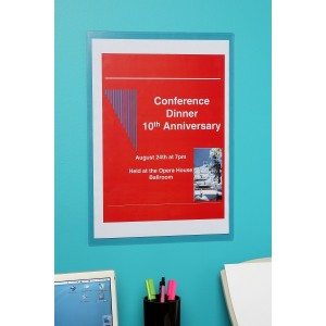 MARBIG WALL MOUNTABLE DOCUMENT PROTECTOR A3 #90083 (price excludes gst)