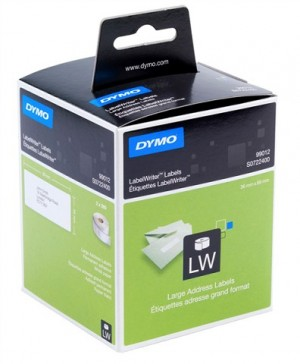 DYMO LABELWRITER ADDRESS LABEL 99012 36mm x 89mm (price excludes gst)