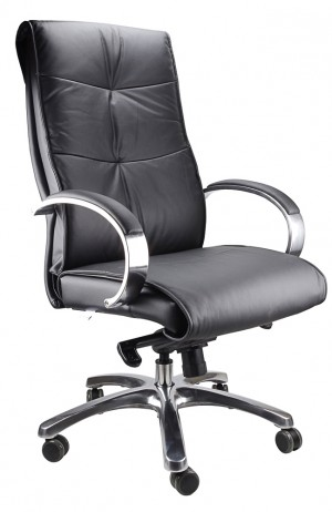 BELAIR HIGH BACK LEATHER EXECUTIVE CHAIR   (price excludes gst)