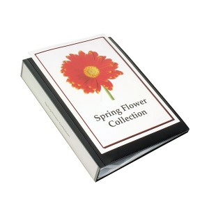 CLEARVIEW DISPLAY BOOK 24 POCKET BLACK (price excludes gst)